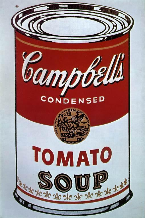 Campbell's Soup Can (1964) by Andy Warhol