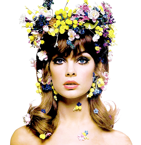 Jean Shrimpton photographed by Bert Stern for Vogue-1963.